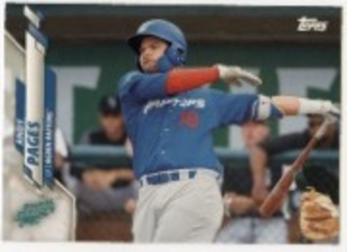 Photo of 2020 Topps Pro Debut #PD9 Andy Pages