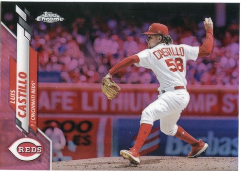 Photo of 2020 Topps Chrome Pink Refractors #16 Luis Castillo