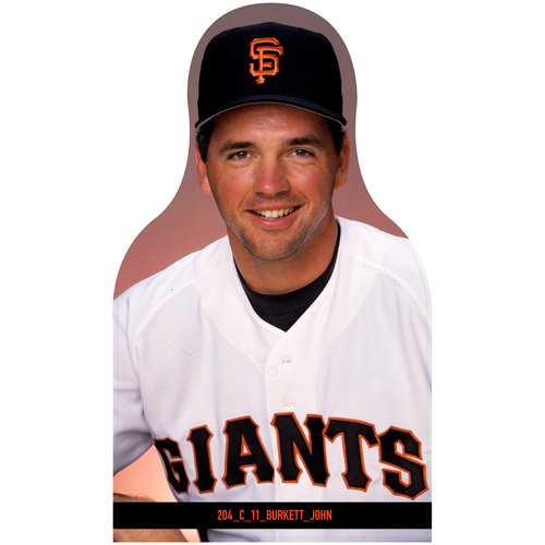 Photo of Giants Community Fund: Giants John Burkett Cutout