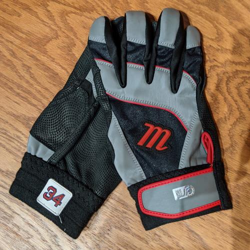 Photo of David Ortiz Game Used Pair of Batting Gloves