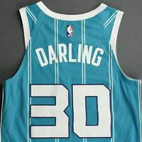 Nate Darling - Charlotte Hornets - Game-Issued Icon Edition Jersey
