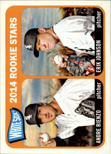 Photo of 2014 Topps Heritage #41 Andre Rienzo RC/Erik Johnson RC