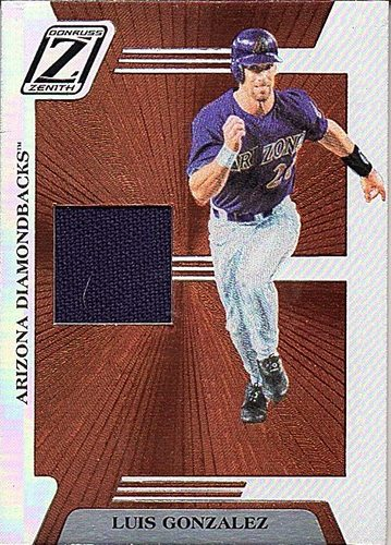 Photo of 2005 Zenith Z-Jerseys #48 Luis Gonzalez T2