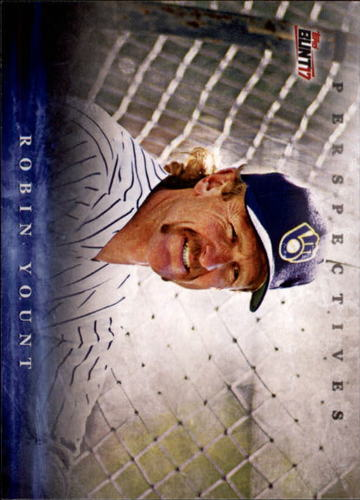 Photo of 2017 Topps Bunt Perspectives #PRY Robin Yount