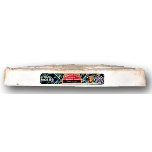 Photo of Game-Used 2nd Base -- Cubs vs. Giants -- 5/26/18 -- Used Innings 1 through 4