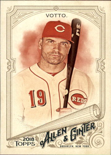 Photo of 2018 Topps Allen and Ginter #20 Joey Votto