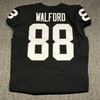 STS - Raiders Clive Walford game worn Raiders jersey (November 19, 2017) Size 46