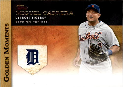 Photo of 2012 Topps Golden Moments Series 2 #GM45 Miguel Cabrera