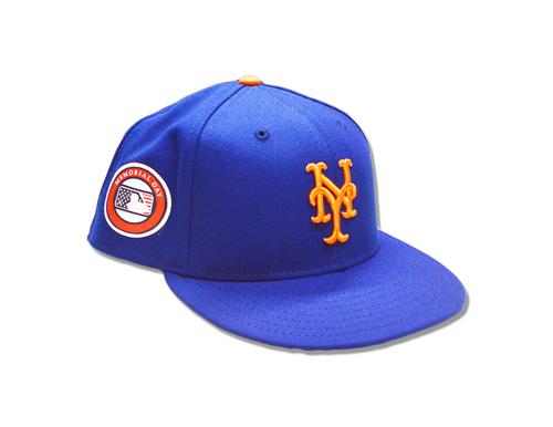 Tyler Bashlor #49 - Game Used Memorial Day Hat - Mets vs. Dodgers - 5/27/19