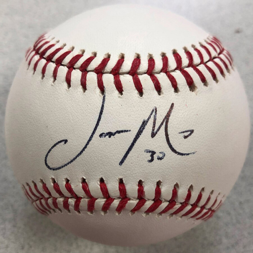 Photo of Cardinals Authentics: St. Louis Cardinals Jason Motte Autographed Baseball