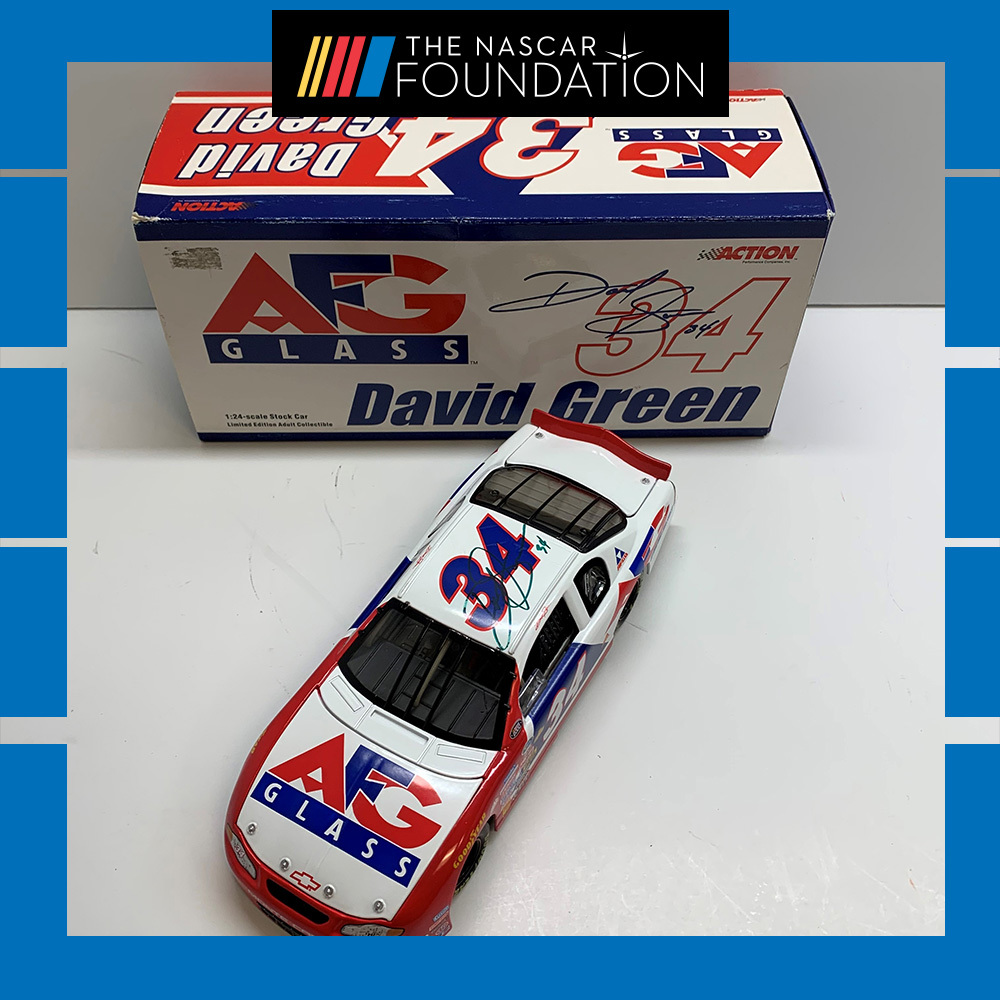 NASCAR's David Green Autographed Diecast!