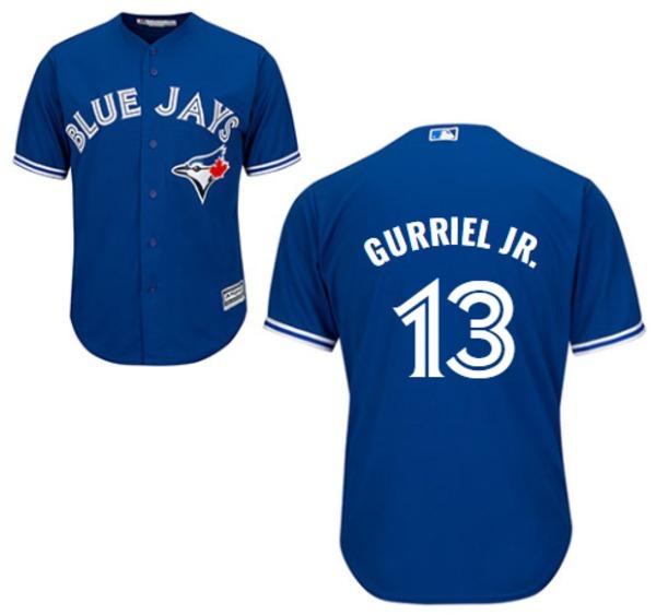 Toronto Blue Jays Lourdes Gurriel Jr. Replica Alternate Jersey by Majestic