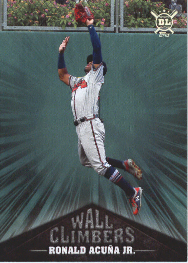 2019 Topps Big League Wall Climbers #WC2 Ronald Acuna Jr.