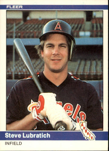 Photo of 1984 Fleer #524 Steve Lubratich