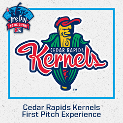 Photo of Cedar Rapids Kernels First Pitch Experience