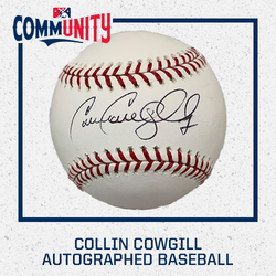 Photo of Collin Cowgill Autographed Baseball