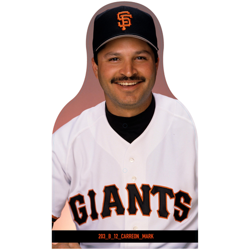 Photo of Giants Community Fund: Giants Mark Carreon Cutout