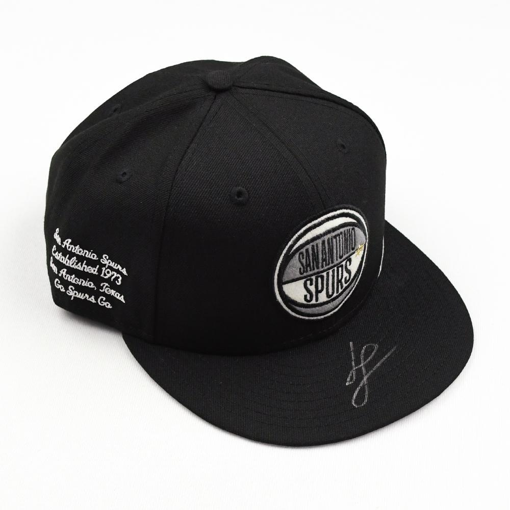 Luka Samanic - San Antonio Spurs - 2019 NBA Draft Class - Autographed Hat