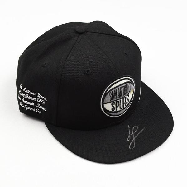 Image of Luka Samanic - San Antonio Spurs - 2019 NBA Draft Class - Autographed Hat
