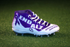 My Cause My Cleats - Patriots Isaiah Wynn custom cleats supporting - Alzheimer's Association - Cleats will be autographed