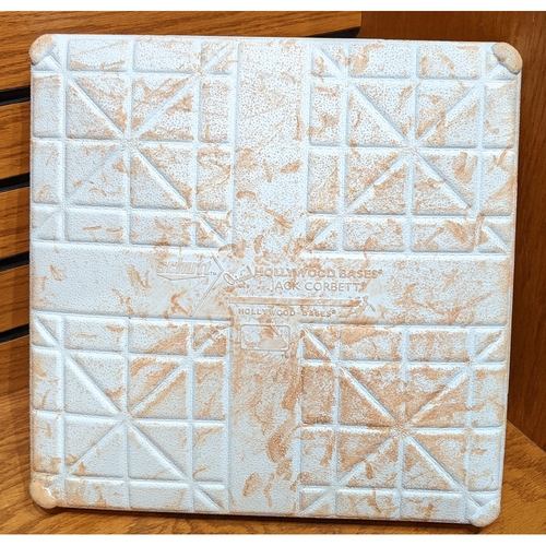 August 6, 2019 Red Sox vs. Royals Game Used 3rd Base