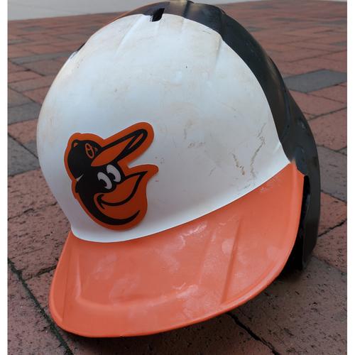 Photo of Pat Valaika: Batting Helmet - Team-Issued