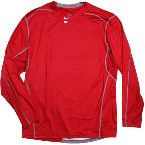 43d8afa4 Ferrell Takes The Field Auction: Game-Used Arizona Diamondbacks Red Nike  Pro Combat Hypercool