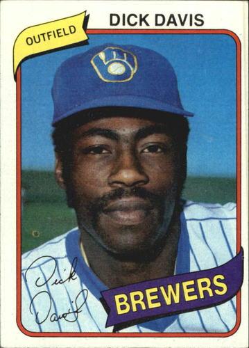 Photo of 1980 Topps #553 Dick Davis