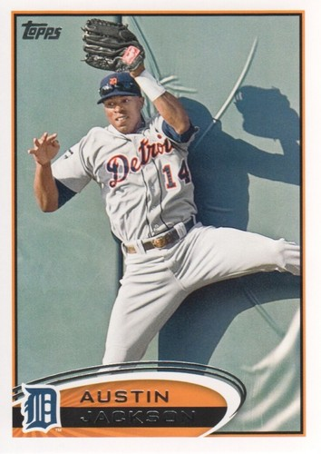 Photo of 2012 Topps #422 Austin Jackson