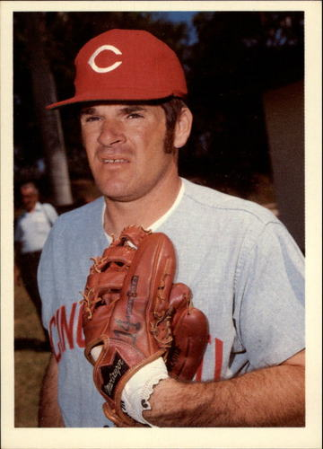 Photo of 1985 Topps Rose #47 Pete Rose/Remembered for what
