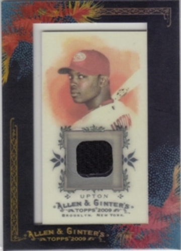 Photo of 2009 Topps Allen and Ginter Relics #JU Justin Upton Jsy D