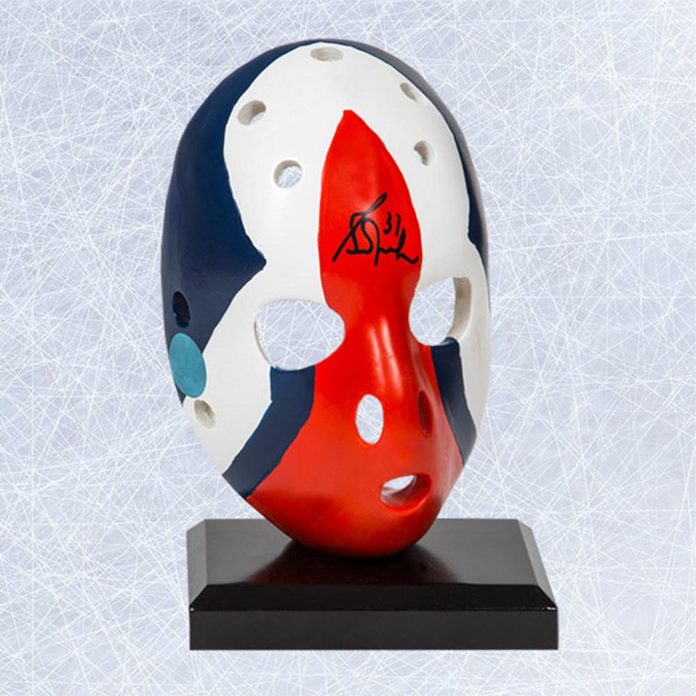 Grant Fuhr Edmonton Oilers Autographed Replica 6 inch Rookie Goalie Mask