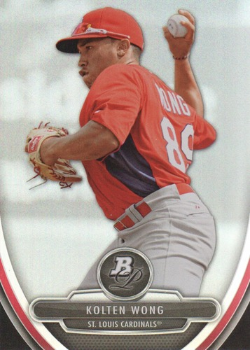 Photo of 2013 Bowman Platinum Prospects #BPP69 Kolten Wong Pre-Rookie Card