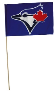 Toronto Blue Jays Basic Logo Flag by Wincraft