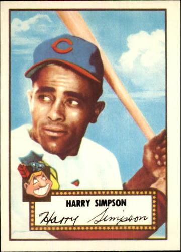Photo of 1983 Topps 1952 Reprint #193 Harry Simpson