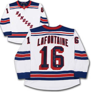 Pat Lafontaine Autographed New York Rangers JerseyPat Lafontaine  Autographed New York Rangers Jersey 55892cced