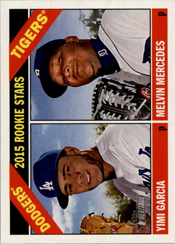 Photo of 2015 Topps Heritage #288 Melvin Mercedes RC/Yimi Garcia RC