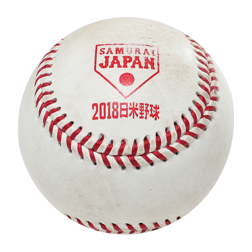 Photo of 2018 Japan Series Game-Used Baseball - Batter: Yadier Molina, Pitcher: Naoyuki Uwasawa - Single, Bottom 1st