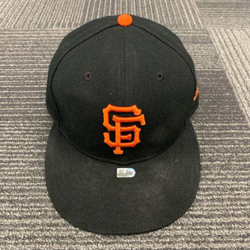 Photo of End of Year Auction - 2018 Team Issued Regular Season Cap - size 7 3/8 - worn by #29 Jeff Samardzija