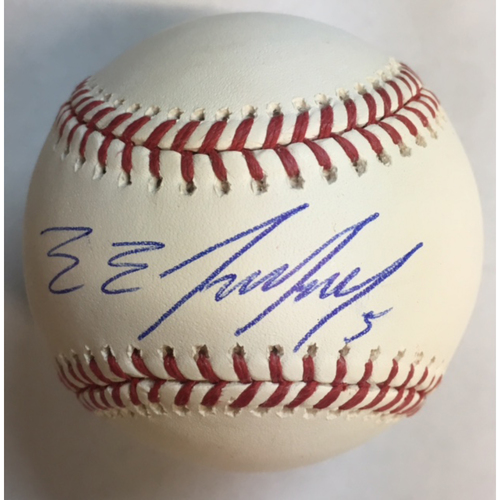Photo of Eduardo Escobar Autographed Baseball