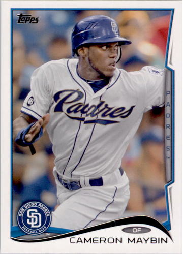 Photo of 2014 Topps #427 Cameron Maybin