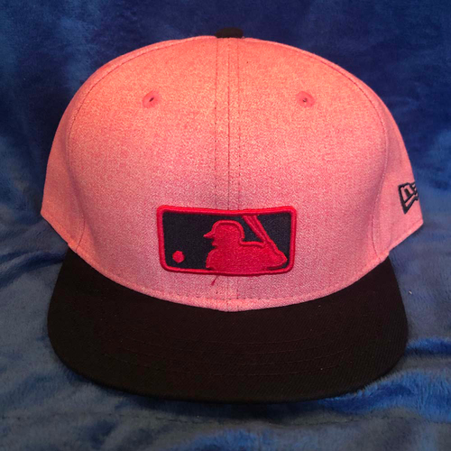 Photo of UMPS CARE AUCTION: MLB Specialty Mother's Day Umpire Plate Cap, Pink, Size 7 5/8