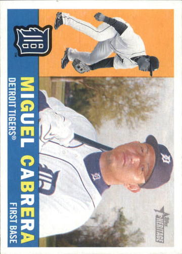Photo of 2009 Topps Heritage #414 Miguel Cabrera