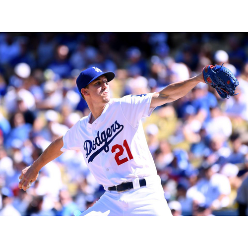 Dugout Visit with Walker Buehler