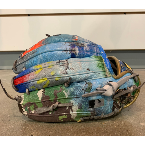 Photo of One-of-a-kind Custom Painted Armed Forces Wilson A2000 Glove Made for Matt Boyd