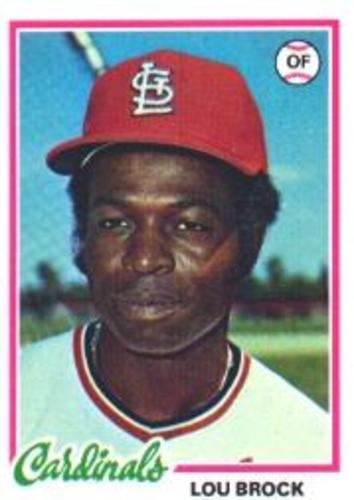 Photo of 1978 Topps #170 Lou Brock