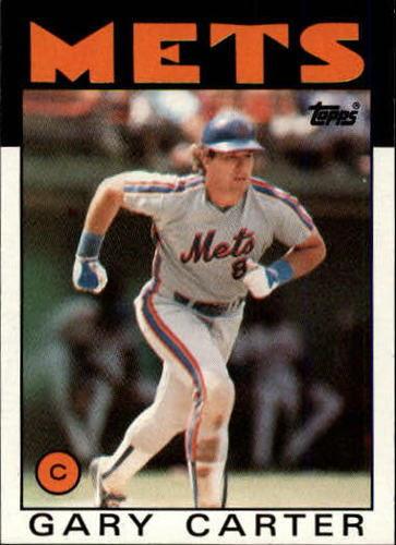 Photo of 1986 Topps #170 Gary Carter