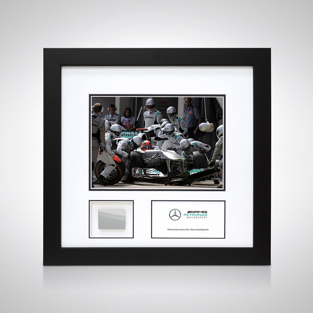Michael Schumacher 2011 Bodywork and Photo - Mercedes-AMG Petronas Formula One Team