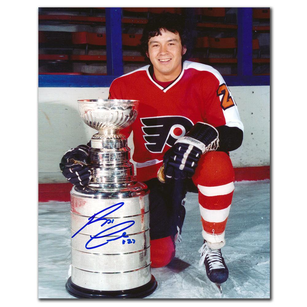 Reggie Leach Philadelphia Flyers STANLEY CUP Autographed 8x10