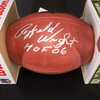 HOF - Cowboys Rayfield Wright Signed Authentic Football